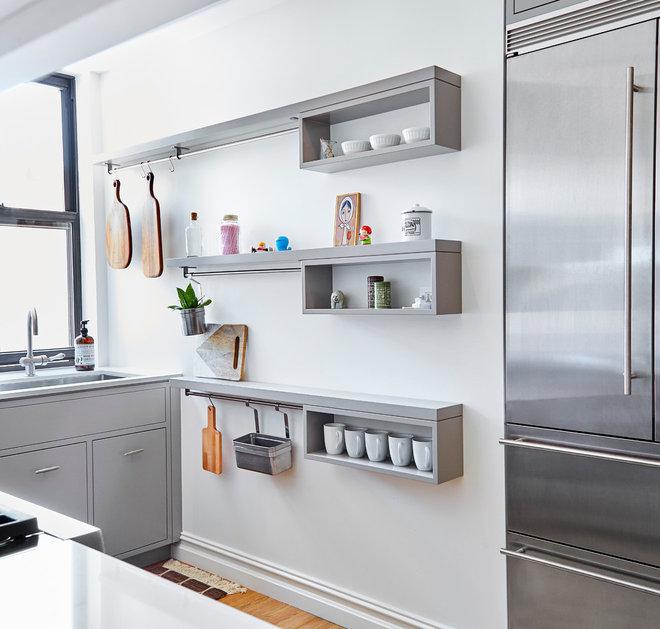 Современный Кухня by Lauren Rubin Architecture