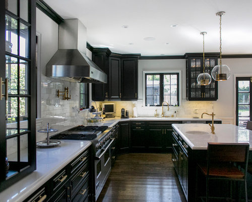 Black Cabinets Home Design Ideas Pictures Remodel And Decor