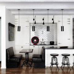 modern kitchen by SchappacherWhite Ltd.