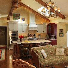 Eclectic Kitchen by Lobalzo Design Associates, Ltd