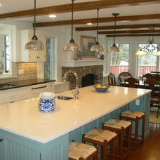 Traditional Kitchen by Adams Interior Design
