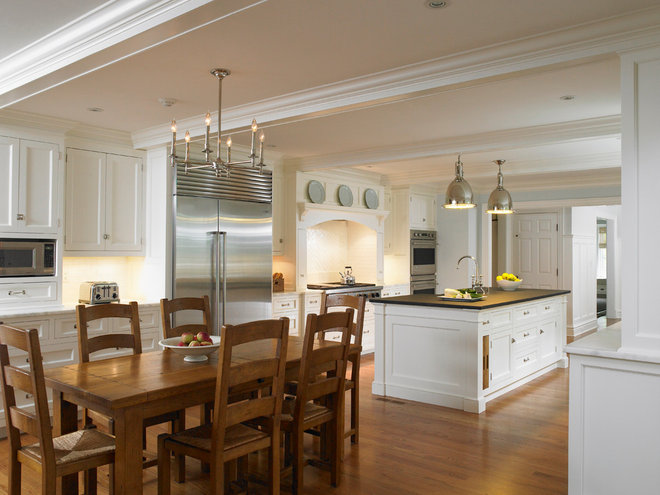 Traditional Kitchen by Huestis Tucker Architects, LLC