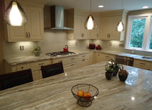 Hi.  What is the island countertop.  It's beautiful!