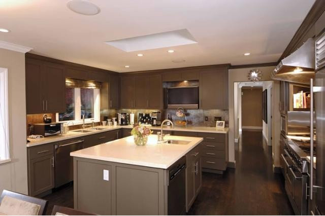 Contemporary Kitchen by Hughes Construction, Inc