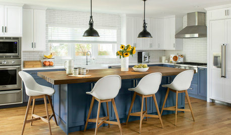 Plan Your Kitchen Island Seating to Suit Your Family's Needs