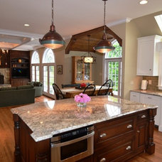 Traditional Kitchen by Benhoff Builders Inc