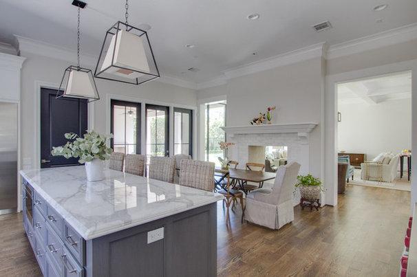 Transitional Kitchen by Davis Builders