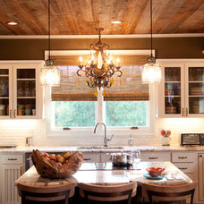 Rustic Kitchen by C.H.I. Construction, Inc.