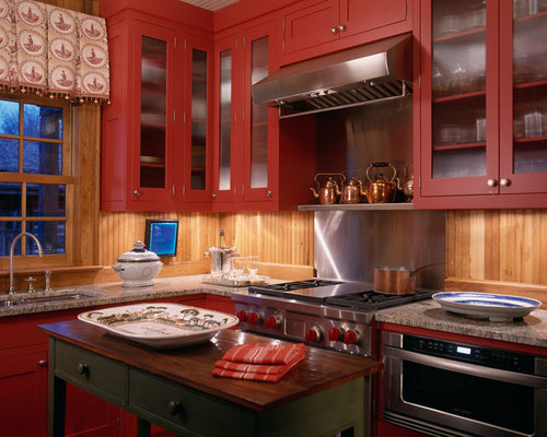 Red Cabinets Ideas, Pictures, Remodel and Decor