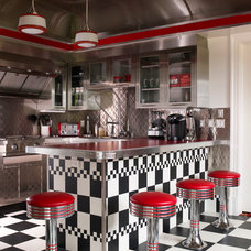 Eclectic Kitchen by Country Club Homes