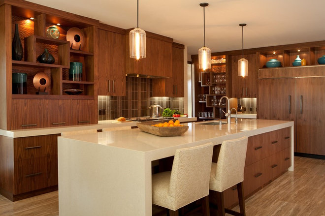 Contemporary Kitchen by Michael Fullen Design Group