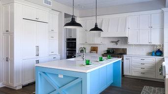 Huntington Beach Modern Farmhouse Kitchen Design