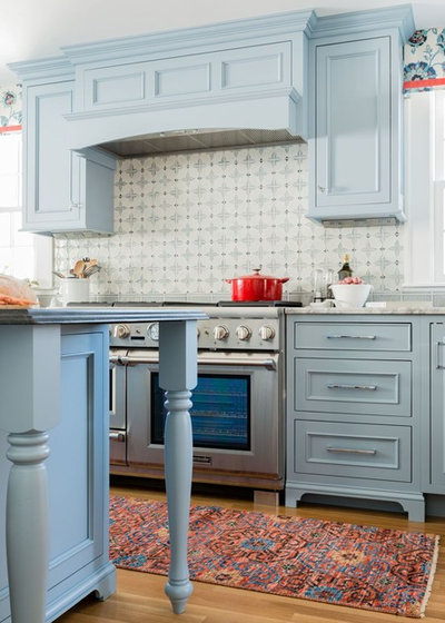 Transitional Kitchen by Steinberg Custom Designs