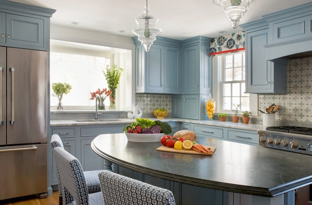 Traditional Kitchen by Steinberg Custom Designs