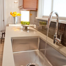 contemporary kitchen sinks by Tammara Stroud Design