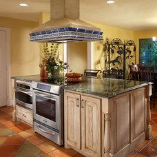 Mediterranean Kitchen by USI Design & Remodeling