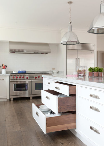 American Traditional Kitchen by Stephen Graver