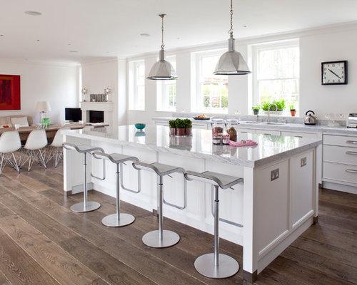 Wide Plank Herringbone Floor Ideas, Pictures, Remodel and Decor