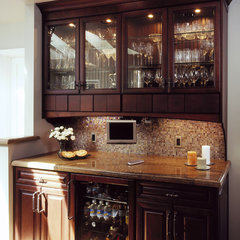 modern kitchen by Harrell Remodeling