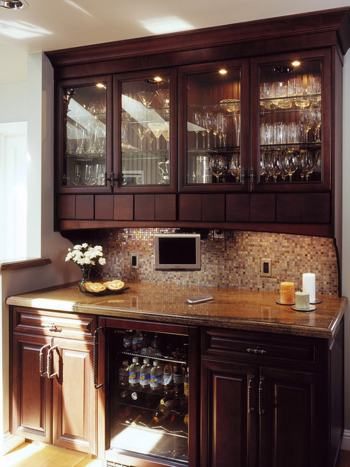 Beverage Center With Hutch Ideas Pictures Remodel and Decor – Kitchen Beverage Center