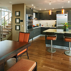 Contemporary Kitchen by James Patrick Walters