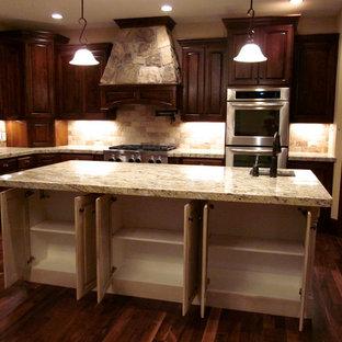 Elegant kitchen photo in Salt Lake City