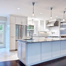 Eclectic Kitchen by Avenue B Development