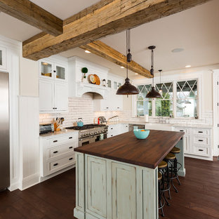 Hyde Park Kitchen Remodel with Authentic Barn Beams