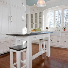 Traditional Kitchen by John Senhauser Architects