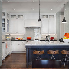 Transitional Kitchen by Tom Stringer Design Partners