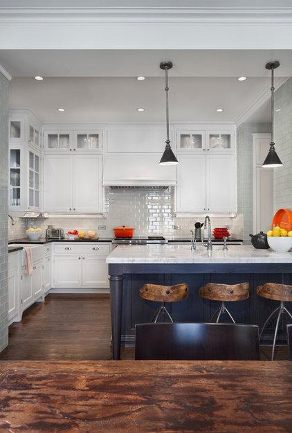 Transitional Kitchen by Tom Stringer Design Partners