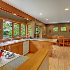 Contemporary Kitchen by Patina Design Architects