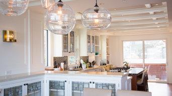 Hyland Studio - Pacifica Home Custom Kitchen Cabinet Windows