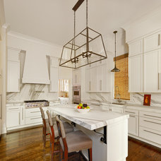 Transitional Kitchen by Structures Building Company