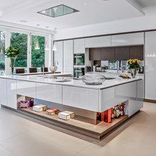 Contemporary Kitchen by Adam Chandler Ltd