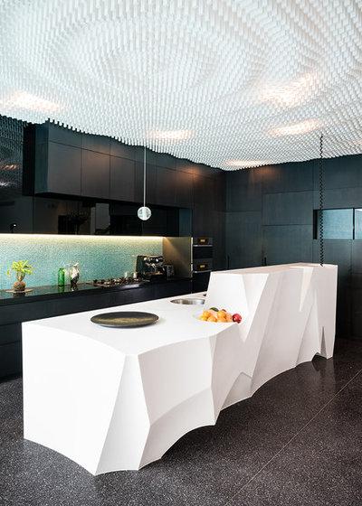 コンテンポラリー キッチン by Individual Design & Construction