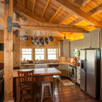 Greenville Barn - Rustic - Living Room - Austin - by Heritage Restorations
