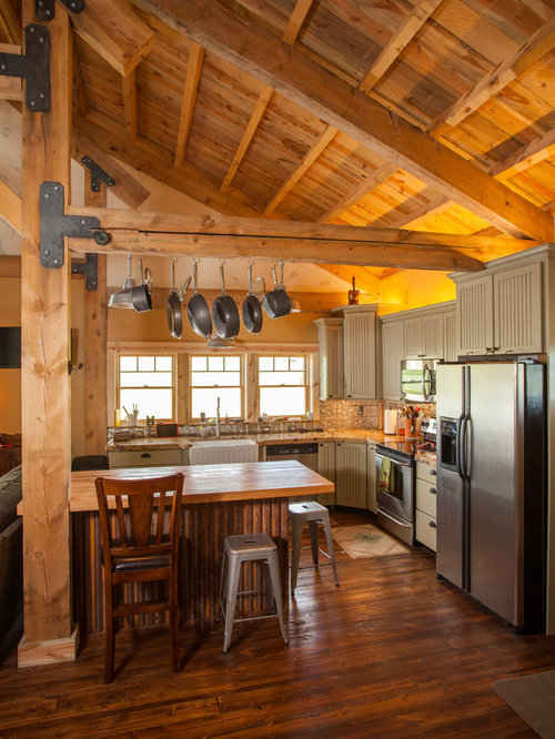 Inspiration For A Timeless Kitchen Remodel In Other With A Farmhouse Sink