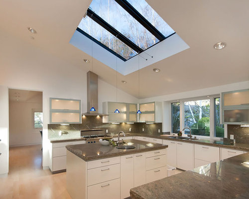 Large skylight home design ideas renovations photos for Large skylights