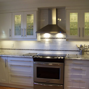 Exceptionnel Inspiration For A Timeless Kitchen Remodel In Toronto. Save Photo. Ikea Adel  White