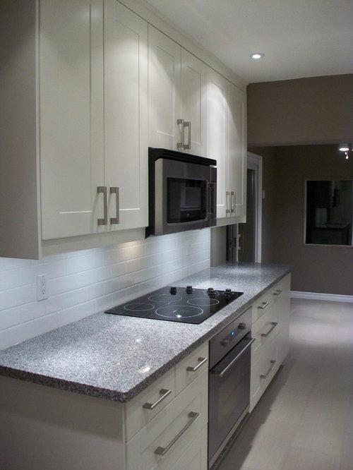 Galley Kitchen Ikea Grimslov White