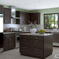 Transitional Kitchen by IKD - INSPIRED KITCHEN DESIGN