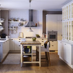 IKEA Kitchen - Traditional - Kitchen - other metro - by Studio Design