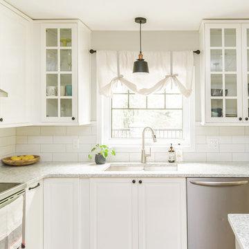 IKEA Kitchen Maximizes Space, Style and Storage