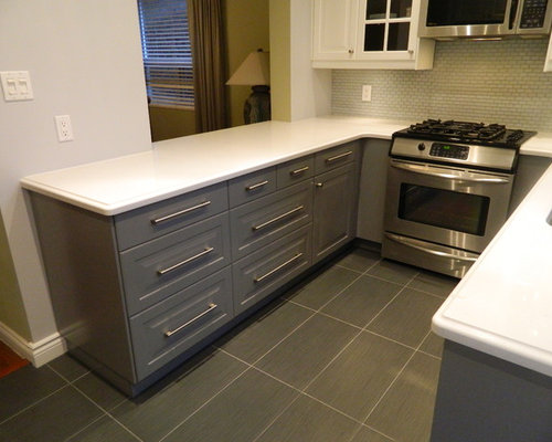 IKEA Kitchens - Bodbyn Gray and Bodbyn White