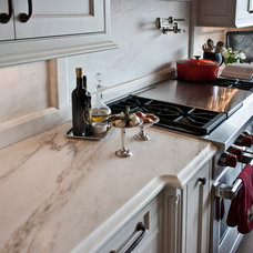 Traditional Kitchen by Terrazzo & Marble Supply Co.