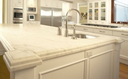 Traditional Kitchen by Global Granite & Marble