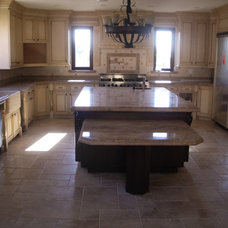 Mediterranean Kitchen by Imperial Tile & Stone