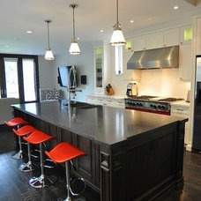 Contemporary Kitchen by Impressions Kitchens