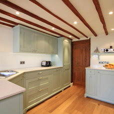 Transitional Kitchen by Beau-Port Kitchens